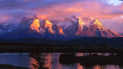 South-American-Patagonia-Mountains-HD-Wallpaper